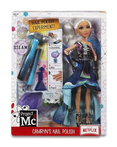 Project Mc2 - CAMRYNS NAIL POLISH - Experiment Doll - NETFLIX